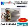 Estator/bobina Original P/serra Mármore 4100 Nh2 220v Makita