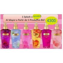 Perfumes Splash Cremas Bodys Victoria Secret Al Mayor Detal