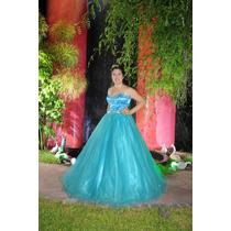 Vestido De 15 Importado Color Turquesa