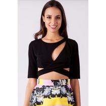 Crop Top Blusa De Moda Dama Oferta Envio Gratis