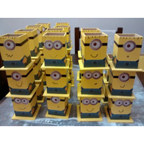 Porta Lapices Fibrofacil Souvenir Minions 25 Unidades