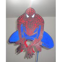 Piñata Hombre Araña - Spider Man Negro - Super Héroes