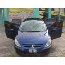 Peugeot 307 Xs Premium Hdi 5ptas 2005 Azul