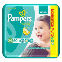 Fralda Pampers Total Confort Super Xg 240 Tiras