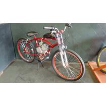 Bicicleta Motorizada Kit Motor 80cc, A Melhor Do Mercado