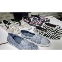 Zapatos Modelo Vans Slip On Sneaker Dama, Caballero Y Niños