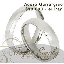 Ilusiones / Argollas De Compromiso (par) Modelo: X408