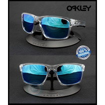 Lente De Sol Oakley Sliver Clear Sapphire Iridium Original!
