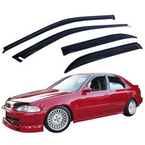 Jdm Window Visors 1992-1995 Honda Civic Sedan 4 Puertas Nca