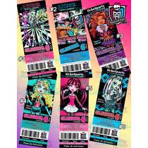 Invitaciones Monster High-invitaciones Infantiles-draculaura
