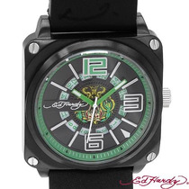 Reloj Ed Hardy Christian Audiger, Acero Piel 3 Sp0