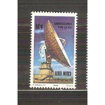 1969 Mex Comunicaciones Para Paz Estaciòn Tulancingo Hidalgo