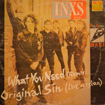 Inxs What You Need - Vinilo Maxi Argentino