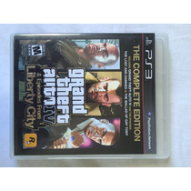 Jogo Ps3 - Grand Theft Auto (gta) Iv & Ep From Liberty City