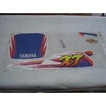 Kit Jogo Adesivo Faixas Yamaha Xt 600 Branco 94/96 Graficos