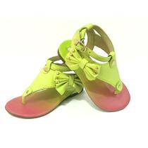 Sandália Com Laço Verde Lilica Repilica