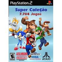 Super Coleção 7800 Jogos Snes + Mario Collection Para Play 2