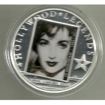 Moneda Isla Cook 2011 Leyenda De Hollywood Elizabeth Taylor