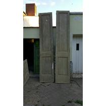 Puertas De Cedro Paraguayo Son 5. Ùnicas En El Pais.