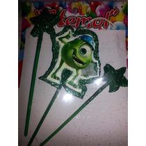 Velas Torta Monster Inc Mike Wasosky Frozen Peppa Pocoyo