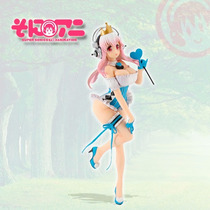 Figure Super Sonico Fairy Tale Queen Of Blue Pronta Entrega