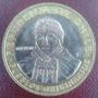 Moneda Bimetalica De 100 Pesos Chilenos Año 2010