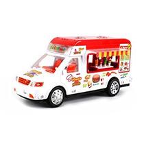 Juguete Alimentos Móvil Eléctrico Rc Truck Restaurante Van