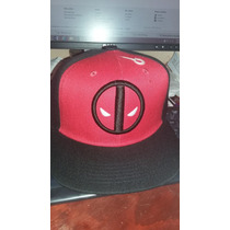 Gorra Deadpool, Capitán America, Superman, Batman, Etc
