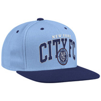 New York City Fc Gorra Ajustable 100& Original Envio Gratis