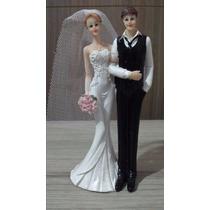 Enfeite De Bolo De Casamento Em Resina Noivinhos Noivos