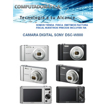 Camara Digital Sony Cybershot Dsc W800 Nueva
