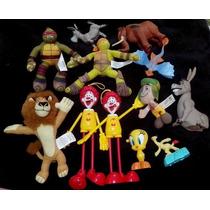 Lote Brinquedos Mcdonalds Usados- Mc Donalds Era Do Gelo Mad