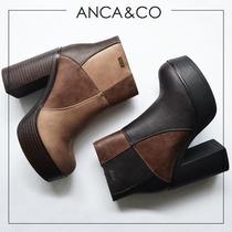 Botas Borcegos Anca Co Taco Alto Zapatos Abotinados Promo