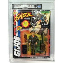 Gi Joe Sargento Sgt Savage 1995 Afa Ww2 D-day Junglecamo Op4