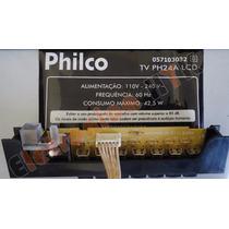 Placa De Funções Tv Philco Ph24a Lcd