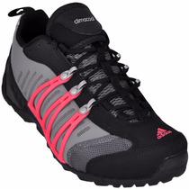 Tênis Adidas Hellbender - Cinza/rosa Aranha