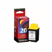 Cartucho De Tinta Lexmark 20 15m0120 Color | P3150 X125 Z45