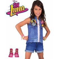 Disfraz Soy Luna Deluxe Original Disney Unico.. Excelente