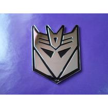 Emblema Decepticons Transformers Metalico Calidad Premium