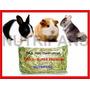 Feno Coast Cross 10kg Super Premium Coelho Porquinho Hamster