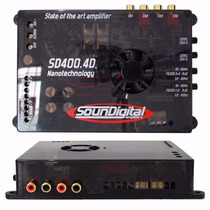 Modulo Amplificador Soundigital 400.4 Mono E Stereo Bridge