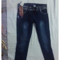 Pantalon Dama Nuevo Jean Pin Joy´s Ropa Talla 13/14