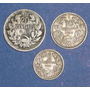 3 Monedas Chile 5 10 20 Centavos 1921 1925 1927 Antiguas