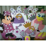 Decoracion En Foami Minnie Mouse