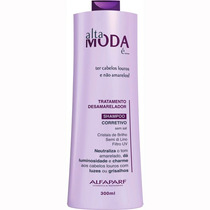 Alta Moda Shampoo Corretivo Desamarelador 300ml