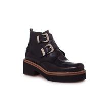 Zapato Botineta Doble Hebilla Clona Para Mujer Oficial