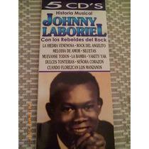 Álbum Johnny Laboriel Con Los Rebeldes Del Rock 5 Cds