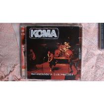Metal Español Cd Doble De Koma:molestando A Los Vecinos 2001