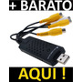 Placa De Captura Dvr Easycap 4 Canais Video E Audio Usb 2.0