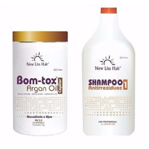 Selagem Bom-tox Capilar S/ Formol New Liss Hair+shampoo 300m